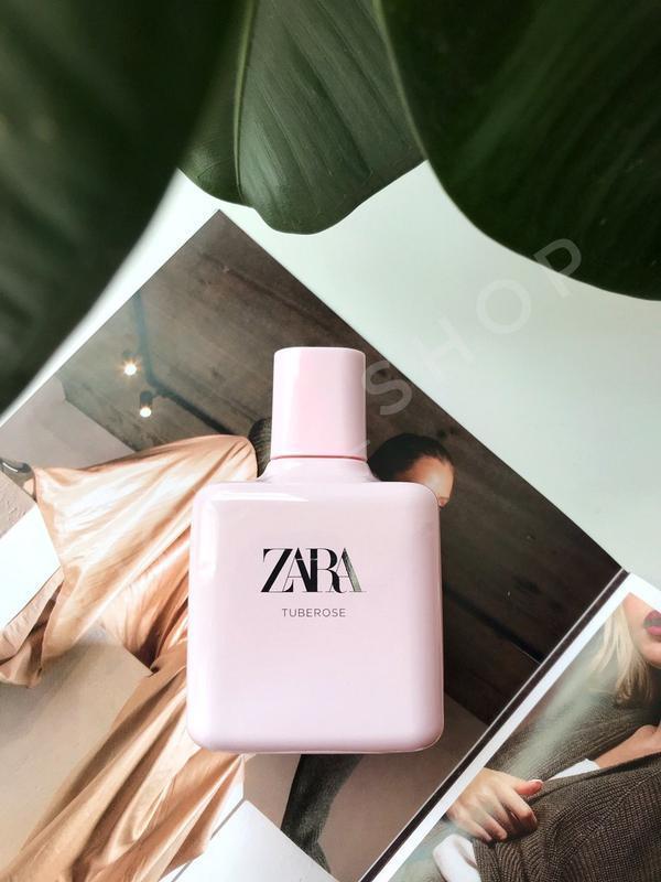 Zara tuberose духи парфюмерия туалетная вода