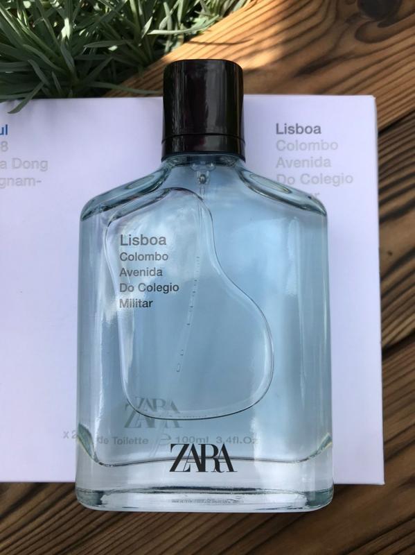 Zara lisboa духи парфюмерия туалетная вода оригинал испания