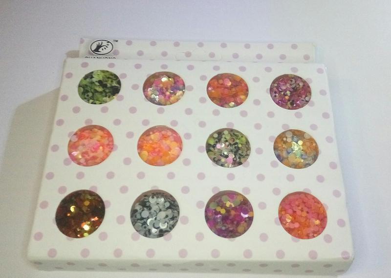 Акция! конфетти камифубики декор для маникюра набор 12 шт - Фото 2