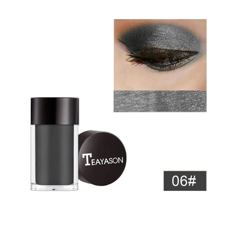 Тени пигмент глиттер рассыпчатые для век teayason тон №06