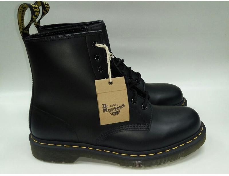 Ботинки dr. martens 10072004-1460 black smooth р. 36-46 мартин...