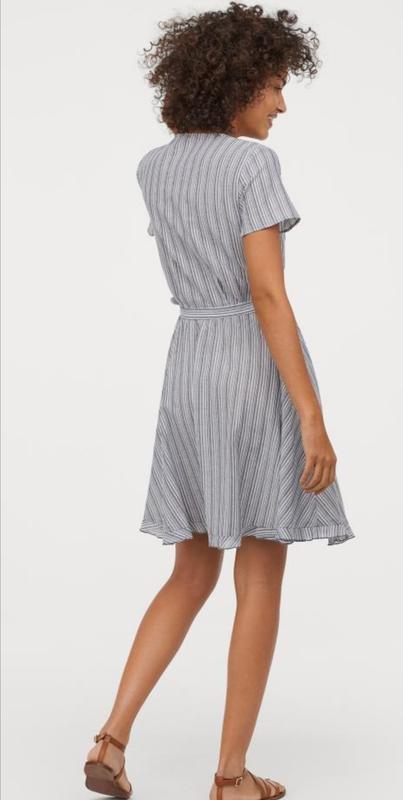 Платье на запах h&m - Фото 2