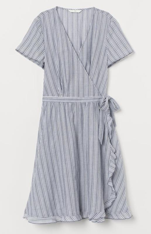 Платье на запах h&m - Фото 3