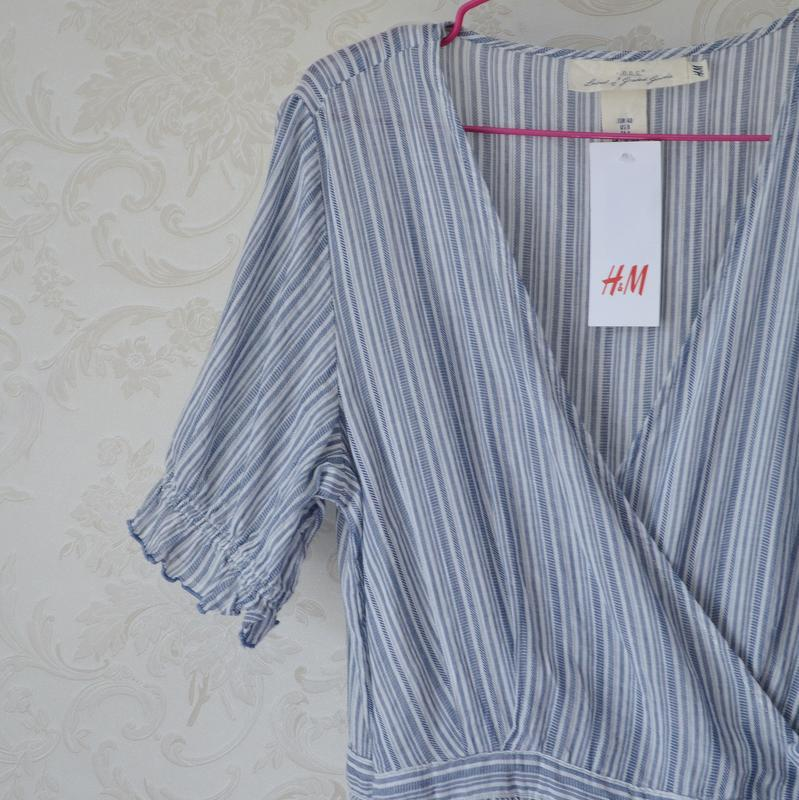 Платье на запах h&m - Фото 4