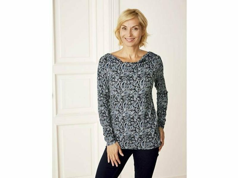 Женская трикотажная блуза реглан лонгслив блузка esmara германия