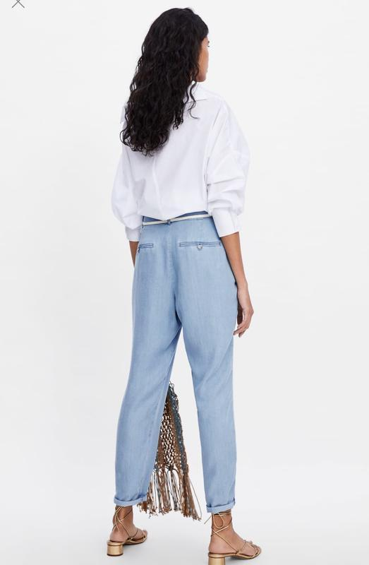 Новые брюки zara - Фото 2
