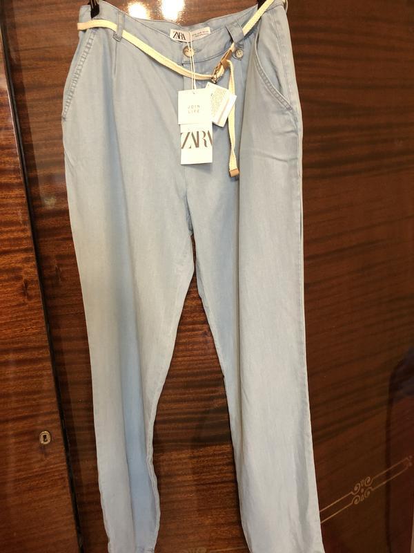 Новые брюки zara - Фото 4