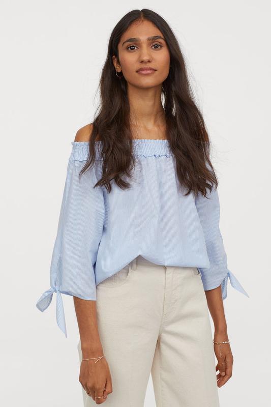 Блуза h&m размер 6(хс)eur 34