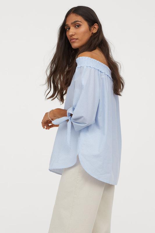 Блуза h&m размер 6(хс)eur 34 - Фото 2