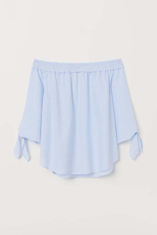 Блуза h&m размер 6(хс)eur 34 - Фото 3
