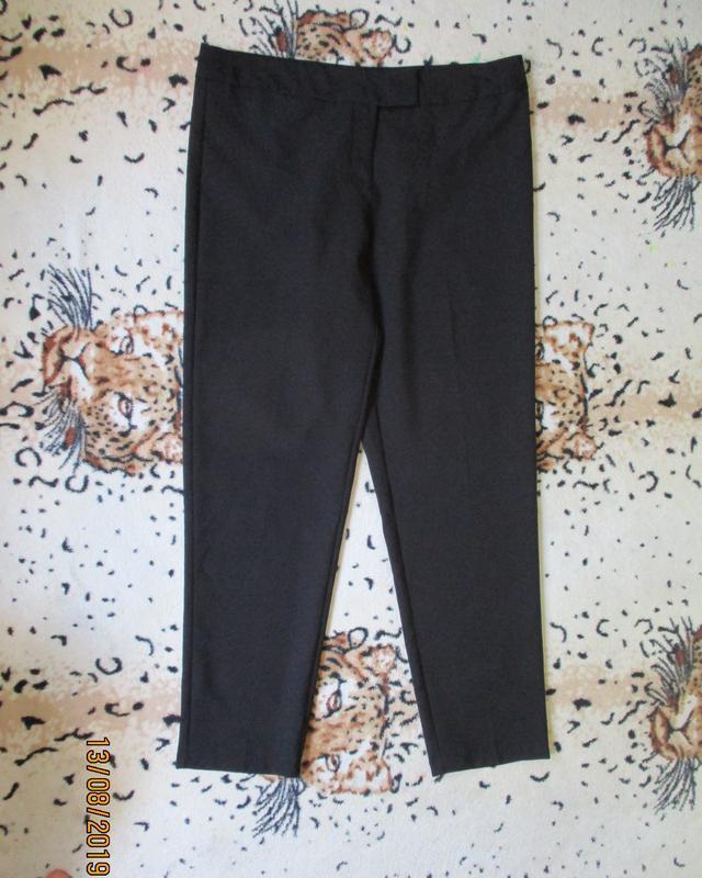 Черные зауженные брюки - Фото 3