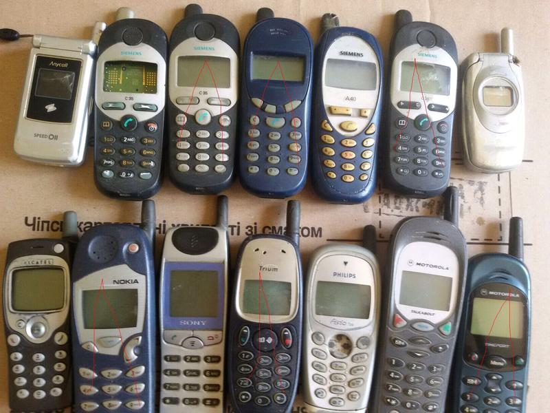 Телефоны с антенной
