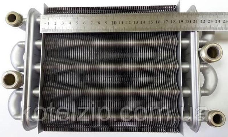 Битермический теплообменник TEPLOWEST АГД 18кВт ART. 2.55.35.0... - Фото 4