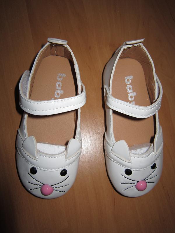 Туфли - котики на девочку