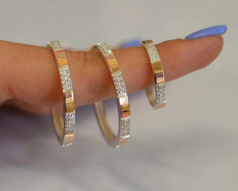 Серьги серебро 925 с золотом конго 041с - Фото 4