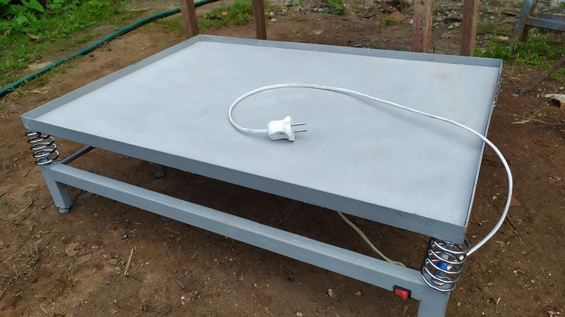 Вибростол для гипсовых изделий 450х700 плитка 3d панели