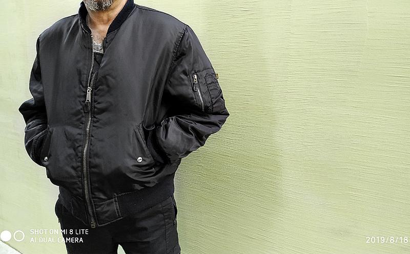 Бомбер куртка пилот MA-1 Buster Original 48-50 размер
