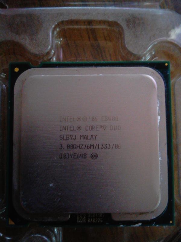 Процессор Intel Core 2 Duo e8400 3.00 Ghz + Охлаждение