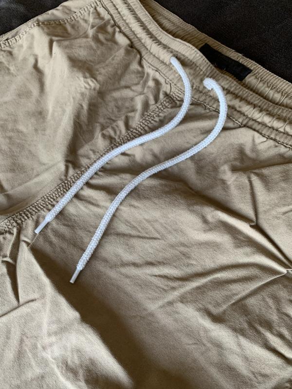 Чоловічі бежеві коричневі шорти. мужские шорты. - Фото 4