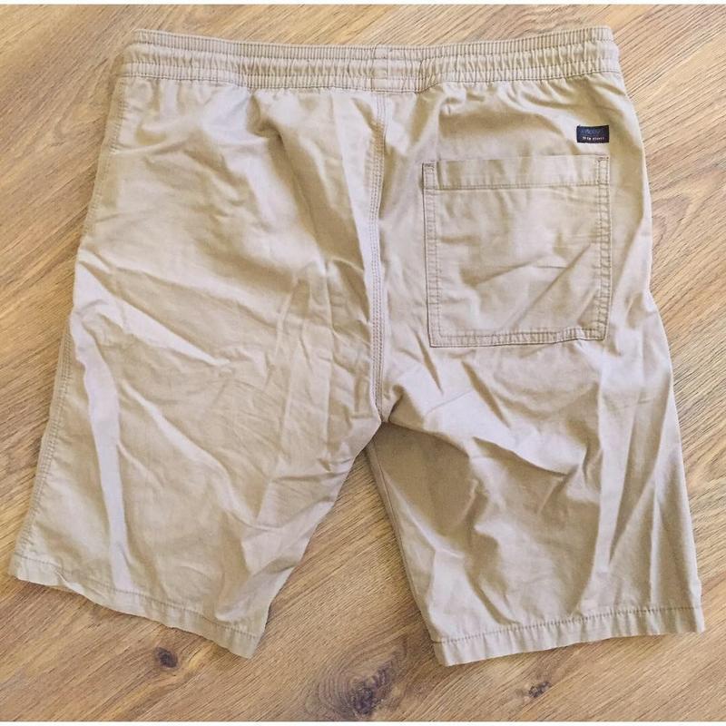 Чоловічі бежеві коричневі шорти. мужские шорты. - Фото 7