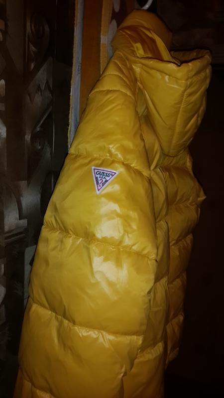 Guess оригинал  usa размер  xl новая куртка пуховик - Фото 9