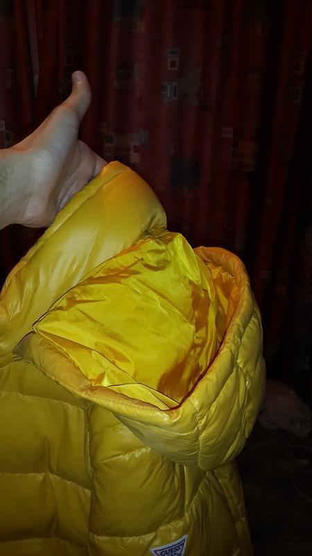 Guess оригинал  usa размер  xl новая куртка пуховик - Фото 10
