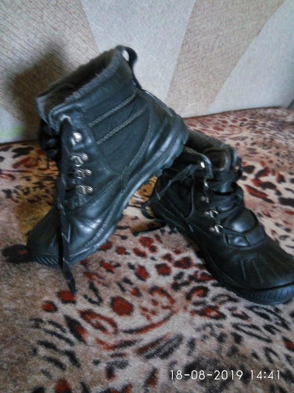 Timberland оригинал утеплённые ботинки натуральная кожа 36р 23см