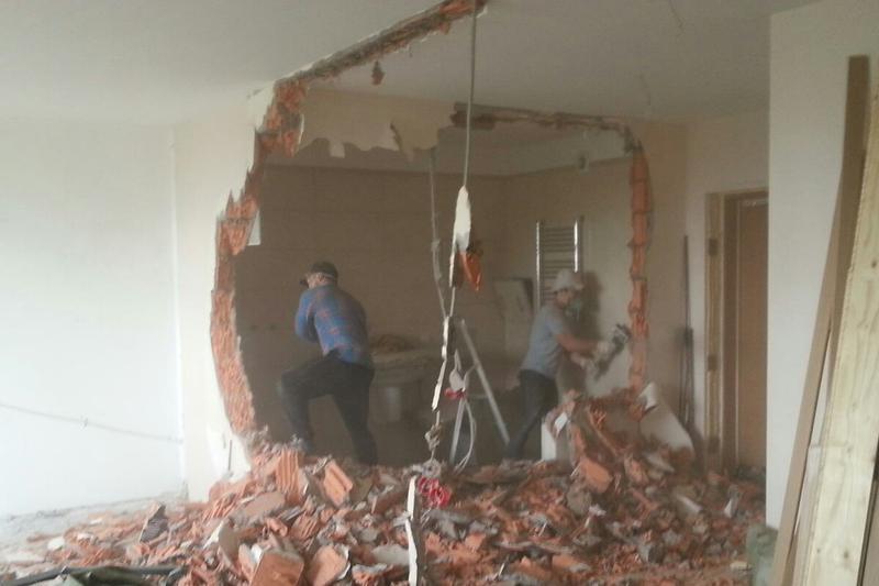 Демонтаж стяжки, политки, штукатурки, стен. профессионально. - Фото 3