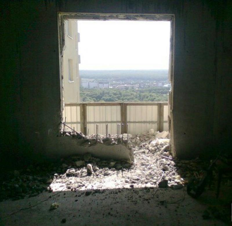 Демонтаж стяжки, политки, штукатурки, стен. профессионально. - Фото 4