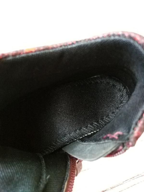Невесомые демисезонные ботинки для девочек солнце - Фото 5