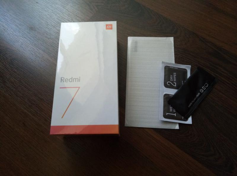 Смартфон Xiaomi Redmi 7 2/16Gb Black Global Version + чехол+ с...