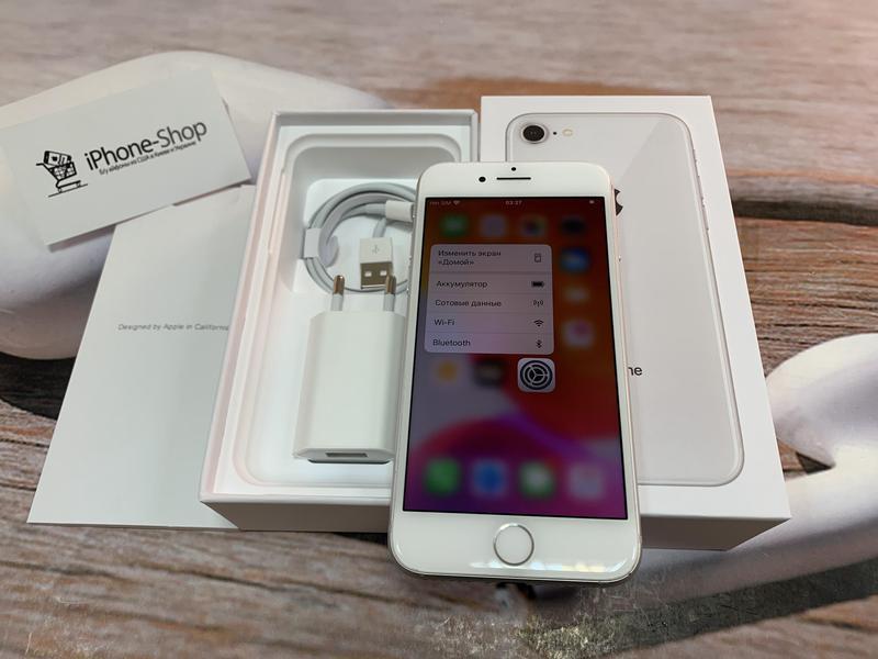 Apple iPhone 8 64gb Silver Neverlock с комплектом,гарантия. - Фото 2