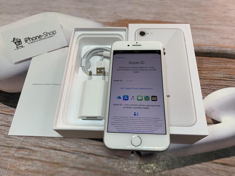 Apple iPhone 8 64gb Silver Neverlock с комплектом,гарантия. - Фото 3