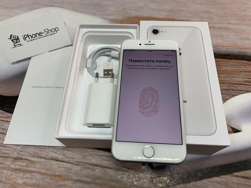 Apple iPhone 8 64gb Silver Neverlock с комплектом,гарантия. - Фото 5