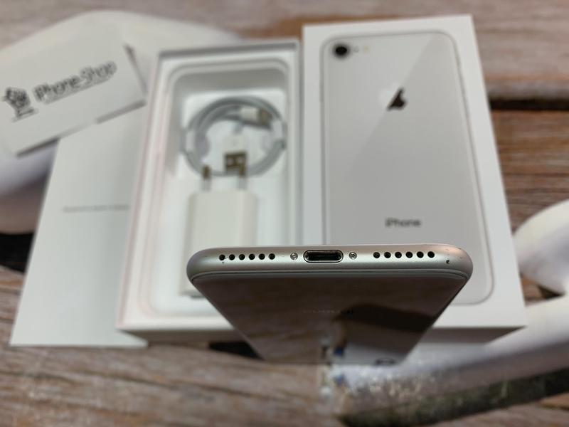 Apple iPhone 8 64gb Silver Neverlock с комплектом,гарантия. - Фото 9