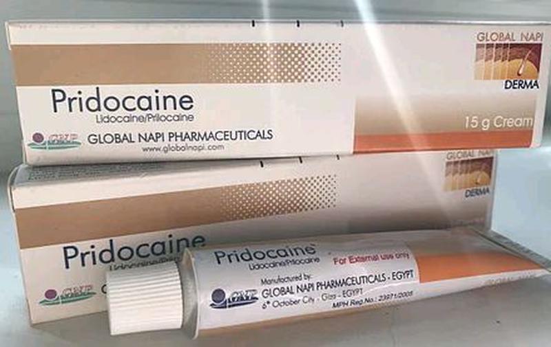 Анестетик крем Pridocaine 5% 15g