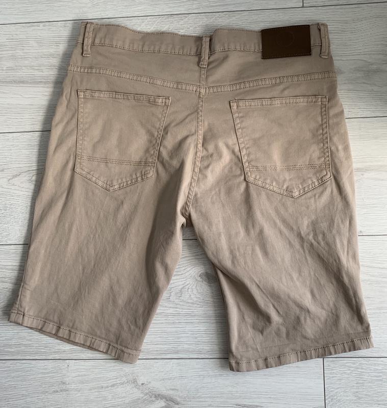 Бежеві чоловічі шорти, мужские шорты, шорти на літо. - Фото 3