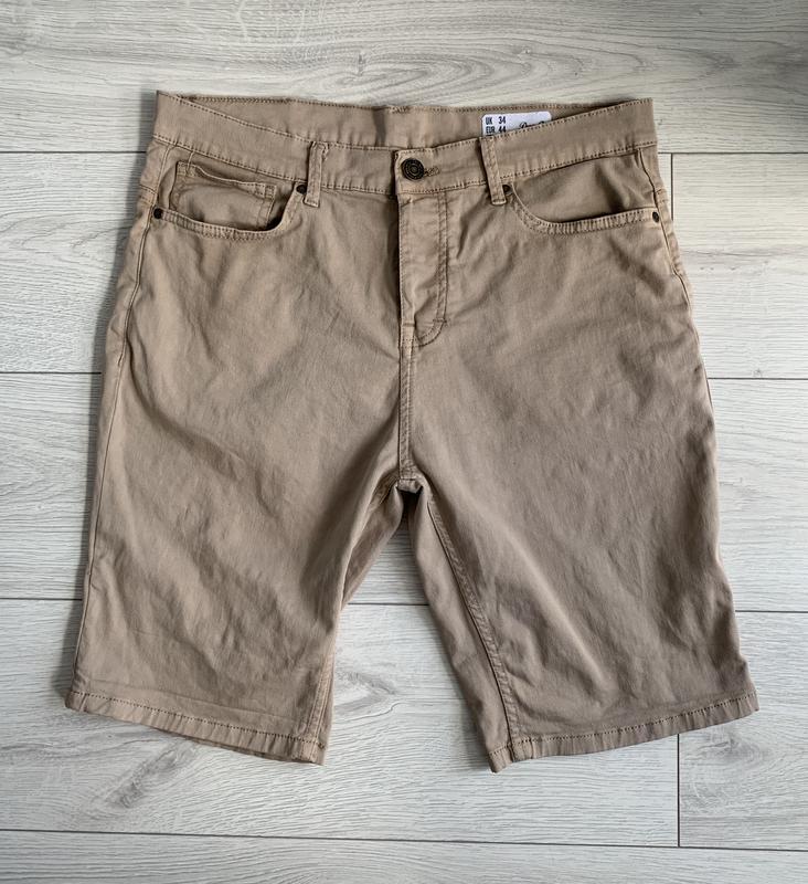 Бежеві чоловічі шорти, мужские шорты, шорти на літо. - Фото 10