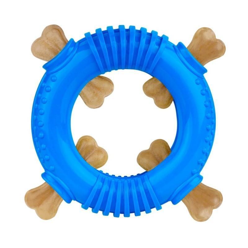 Игрушка для собак Bronzedog SMART мотивационная Ринг 16 х 3 см - Фото 3