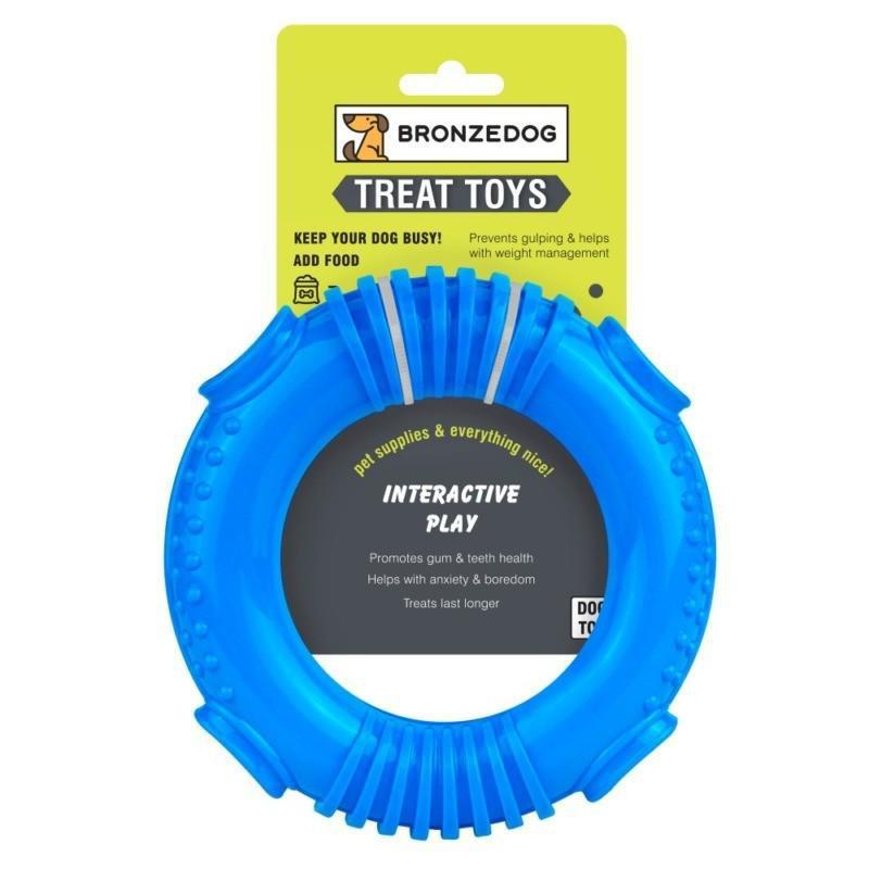 Игрушка для собак Bronzedog SMART мотивационная Ринг 16 х 3 см - Фото 4