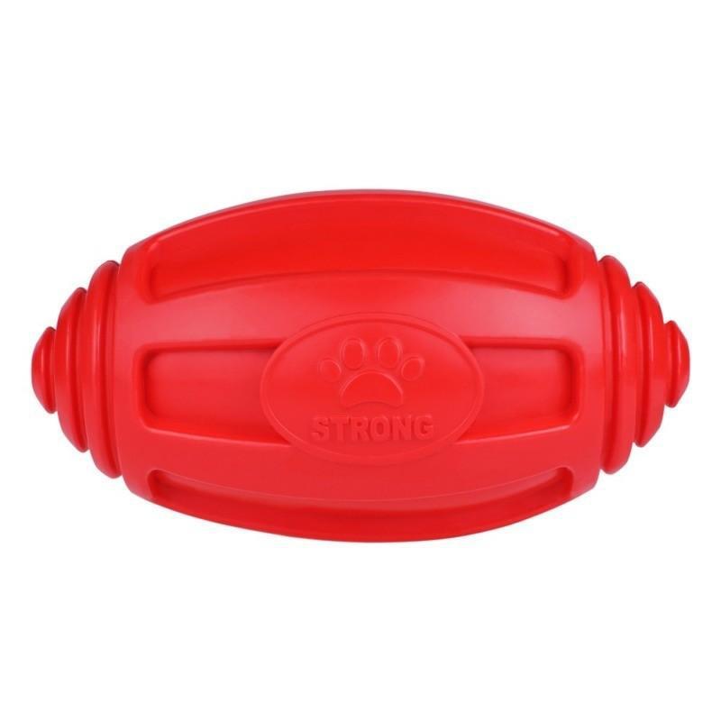 Игрушка для собак Bronzedog FLOAT плавающая Регби 18 х 9 см - Фото 3