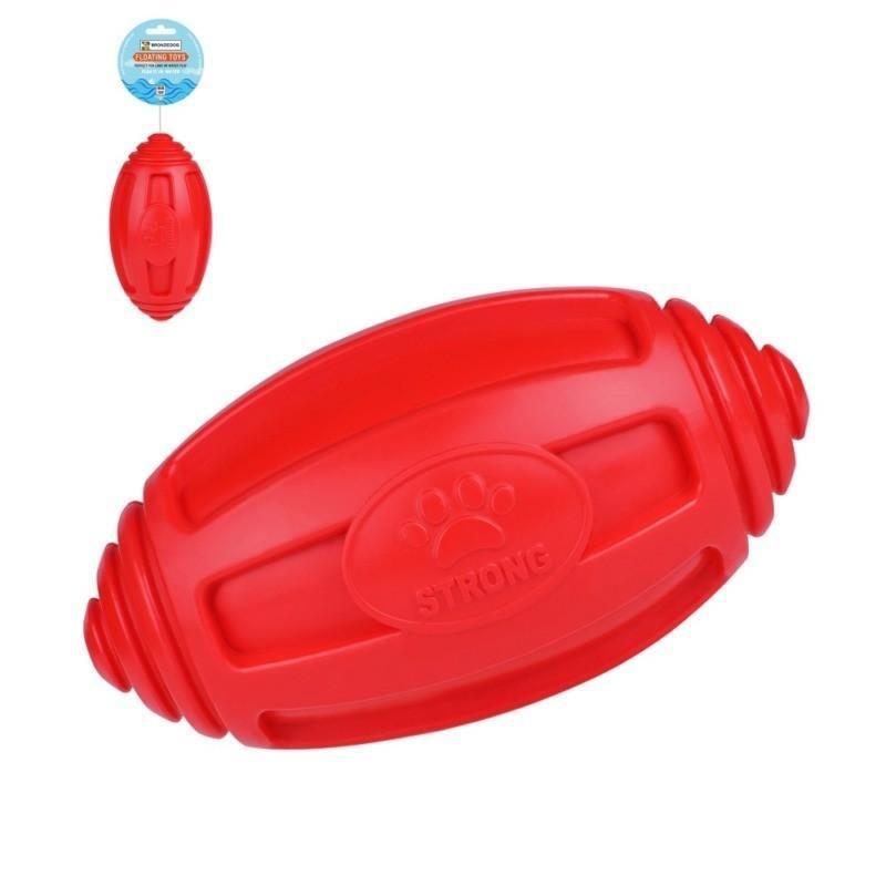 Игрушка для собак Bronzedog FLOAT плавающая Регби 18 х 9 см