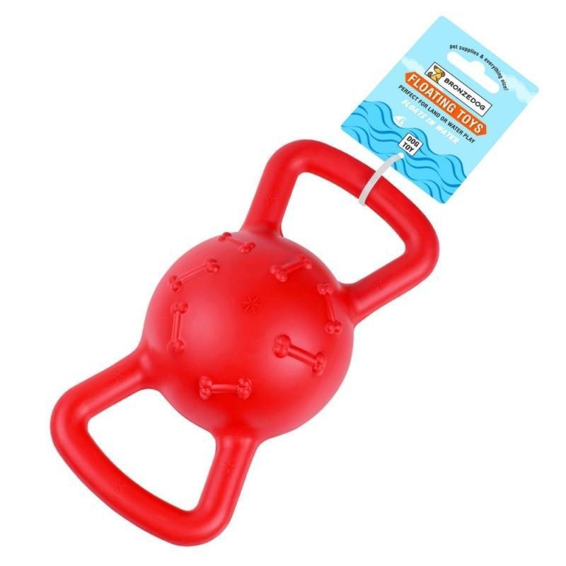 Игрушка для собак Bronzedog FLOAT плавающая Силовой мяч 19 х 9 см - Фото 3