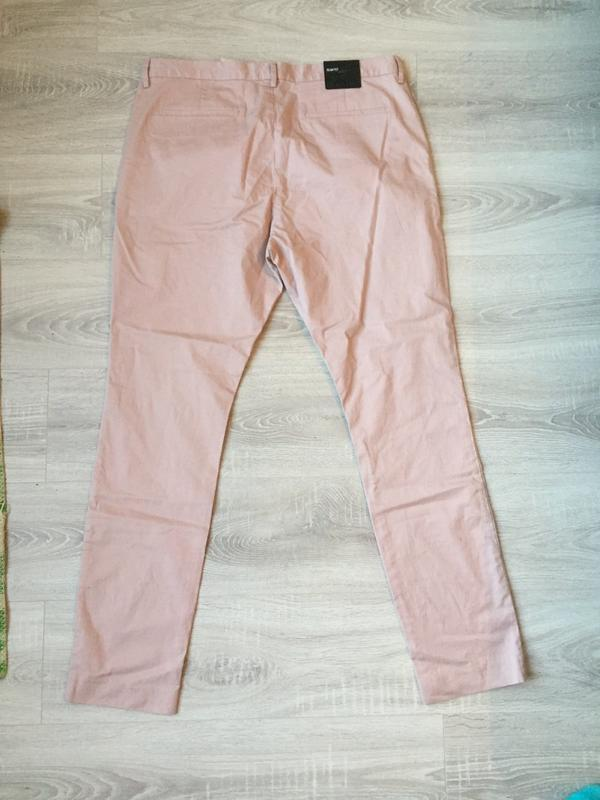 Джинсы пудрового цвета, брюки/ размер xl-xxl/h&m - Фото 2