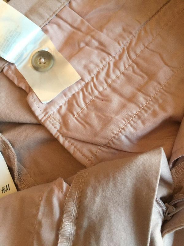 Джинсы пудрового цвета, брюки/ размер xl-xxl/h&m - Фото 3