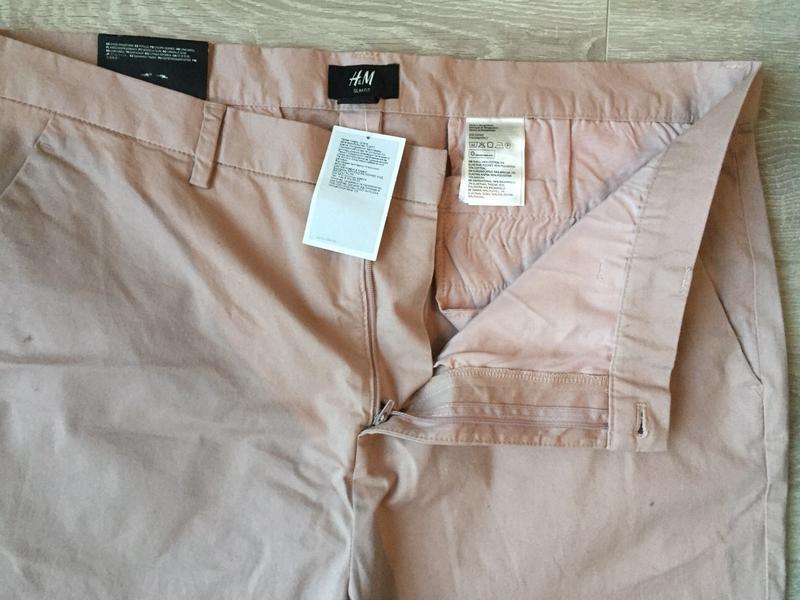 Джинсы пудрового цвета, брюки/ размер xl-xxl/h&m - Фото 4