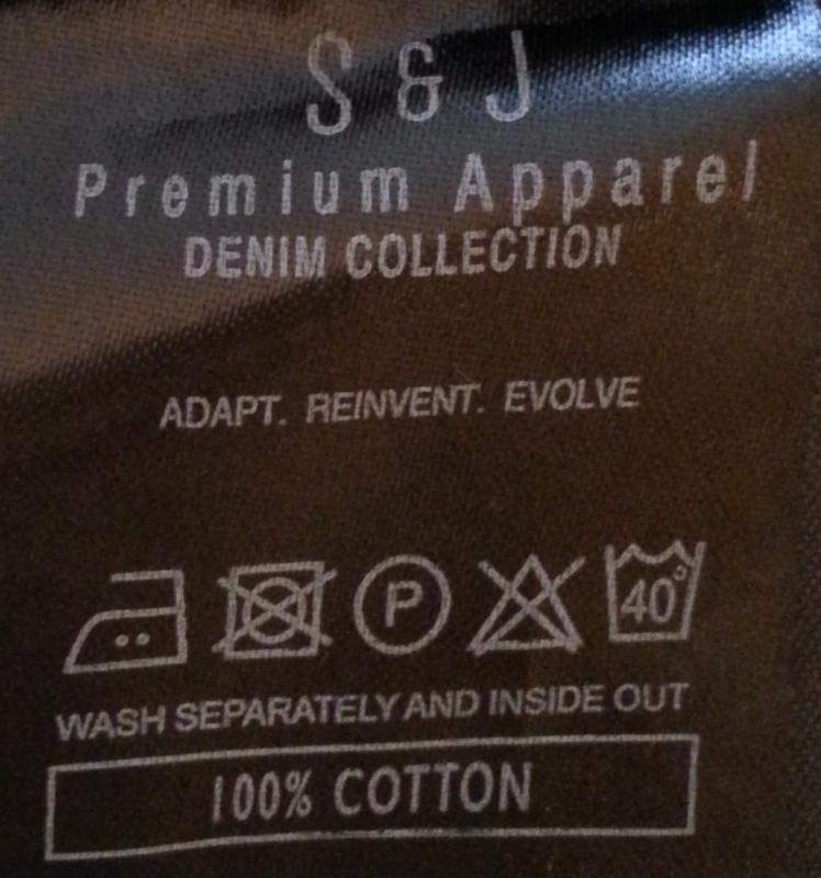 Джинсовые шорты,бриджи s&j.оригинал. - Фото 3