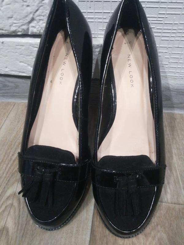 Лаковые туфли new look