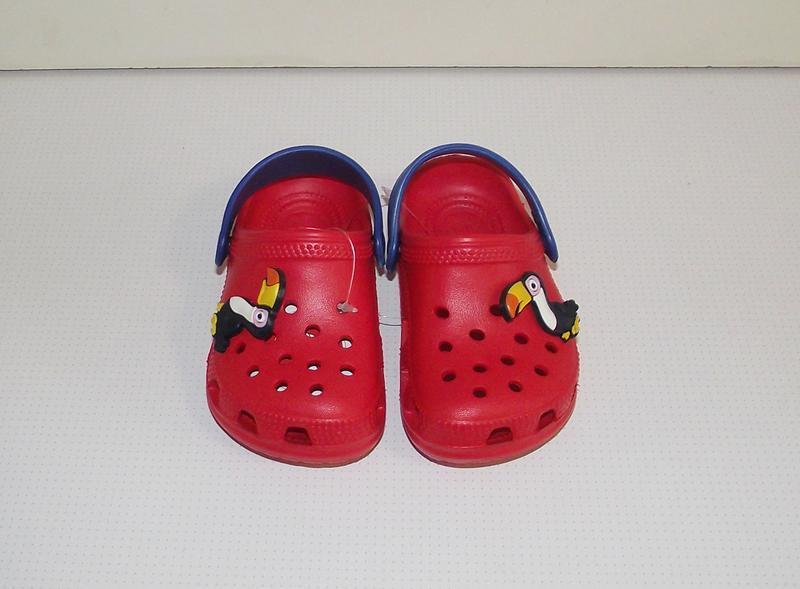 Кроксы сабо детские красные тм jose amorales - Фото 2