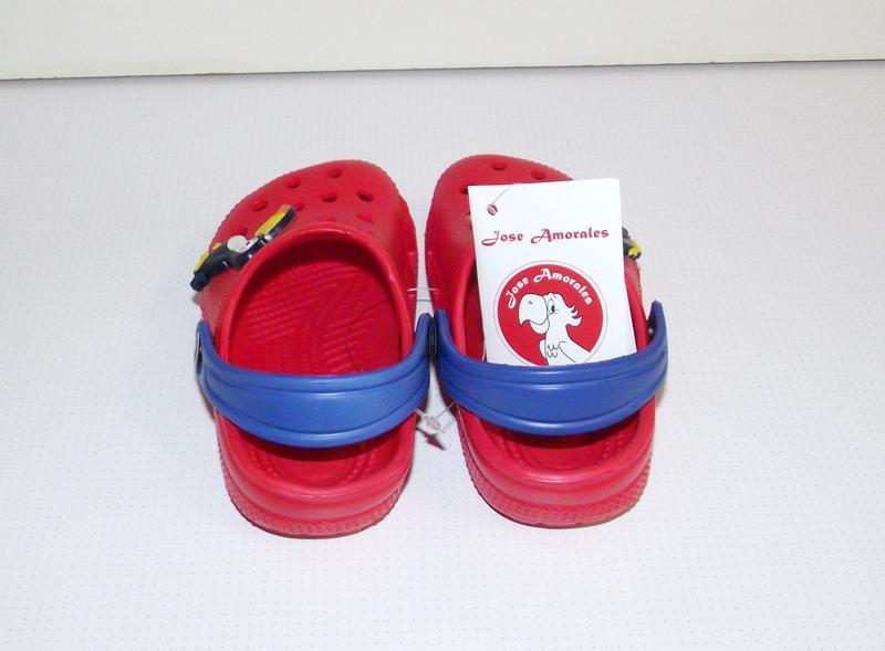 Кроксы сабо детские красные тм jose amorales - Фото 3